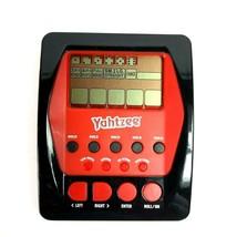 Electronic Yahtzee Hand Held 2012 Hasbro Gaming A2125 - $9.89