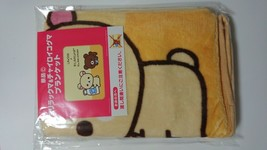 RILAKKUMA × LAWSON Limited Korilakkuma Chairoi Koguma Blanket - $37.29