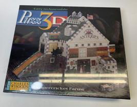 Puzz 3D Charles Wysocki Peppercricket Farms Puzzle 247 Piece - 3 Dimensional - $12.34
