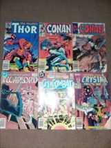 MARVEL COMICS Thor-Conan-Crystar-Warlord - $18.70
