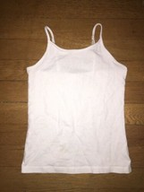 * Childrens Place solid black white gray cami tank top Medium  7 8 girl - $3.95+