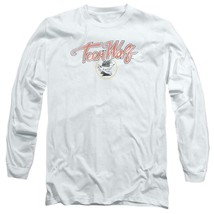 Teen Wolf T-shirt Retro Classic Werewolf movie graphic long sleeve tee MGM274 image 1