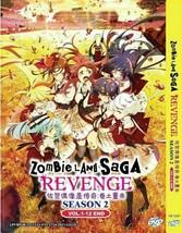 Zombie Land Saga Revenge Season 2: VOL.1 - 12 End English Sub Ship From USA