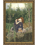 Counted Cross Stitch Embroidery Kit Alyonushka Viktor Vasnetsov Masterpiece - $40.13