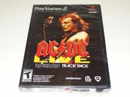 AC/Dc Live Rockband Pista Confezione Per PLAYSTATION 2 PS2 Nuovo E Sigillato