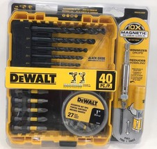 DeWalt - DWA2SLS40HP - Black Oxide Screwdriving Drilling Set - 40-Piece - $24.70