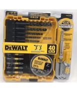 DeWalt - DWA2SLS40HP - Black Oxide Screwdriving Drilling Set - 40-Piece - $24.70
