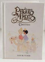 1988 A Precious Moments Christmas Sam Butcher Book 21 Illustrations - $6.99
