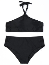 Women's Halter Plus Size Two Pieces Bikini Set image 2