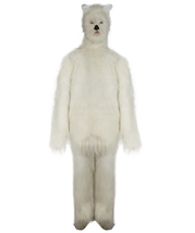 Furry Dog Collection   Men's White Furry Dog Cosplay Wig & Costume Bundl... - $147.85