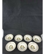 """Limoges American China d'Or Triumph Set Of 7 6.25"""" Bowls 1T-S284 22K Gold - $19.99"""
