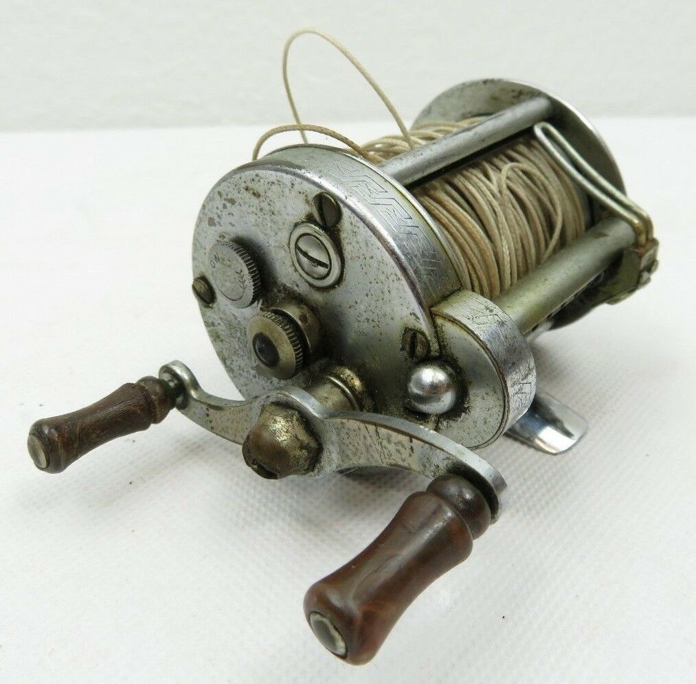 Primary image for Vintage Pflueger Akron Fishing Reel 1893 USA Made