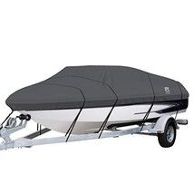 Classic Accessories StormPro Heavy Duty Boat Cover With Support Pole For... - $140.93