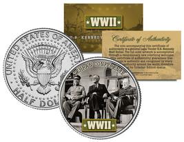 World War II TEHRAN CONFERENCE JFK  Kennedy Half Dollar U.S. Coin - $8.86