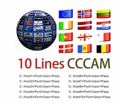 1 Year line Germany Poland Spain Italy Europe 10 lines Server Mgcam Osca... - $18.80