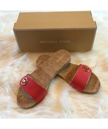 Women's Michael Kors Coral Reef Lee Slides NIB Size sz 8.5 - $56.97