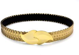 Marshal Metal Fashion Belt Metallic Mermaid Scale Stretch Waist Belt - $40.55