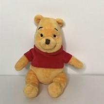 "Disney Winnie The Pooh Beanie Plush Stuffed Animal 6"" Sitting - $18.69"