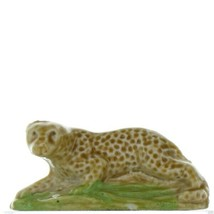Wade Whimsies Red Rose Tea Canadian Series 4 Miniature Porcelain Leopard