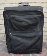 """Tumi 24"""" Suitcase Black Ballistic Nylon Upright Rolling Expandable Suitc... - $49.50"""