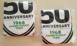 """NY Jets Football 1968 50th Anniversary Rally Towels 18""""x15"""" - $13.95"""
