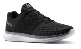 Reebok Men's Black/Gravel/Tin Grey PT Prime Runner Athletic Shoes Sneakers NWOB image 2