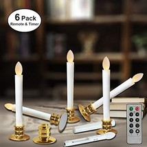 Window Candles with Remote Timers Battery Operated Flickering Flameless Led Elec