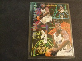 1994-95 Fleer Triple Threats #7 Shaquille O'Neal -Orlando Magic- - $3.12