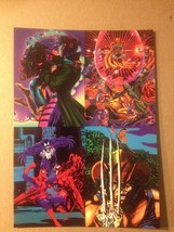 Marvel Universe 1992 - 1993 Flair' 93 Promo Card Uncut Sheet Lot Of 10 - $43.54