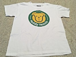 "Unisex ""Teddy Tennis"" Graphic T Shirt (Youth - S) - $6.80"