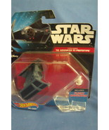 Toys NIB Hot Wheels Disney Star Wars Darth Vaders Tie Advanced X1 Prototype - $9.95
