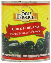 San Miguel Whole Poblano Peppers - £32.09 GBP