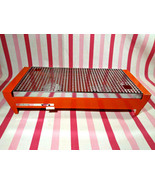 MoD Vintage Orange 1970's Brabantia Food Warmer / Hot Plate Dutch Kitche... - $30.00