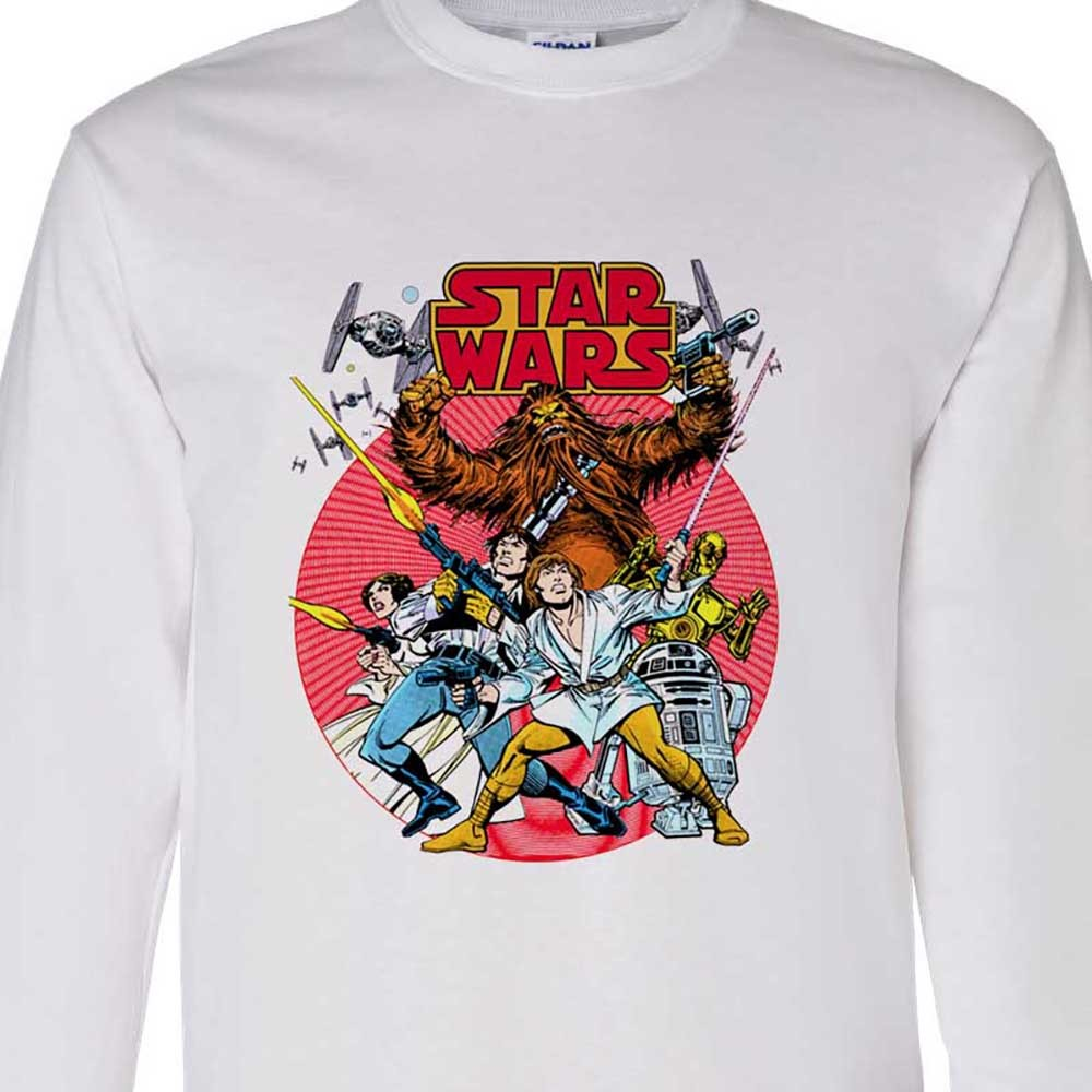 T luke skywalker pricess leia empire strikes back for sale online graphic tee shirt store empire