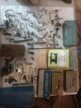 Greist sewing machine ruffler attachment hemmer binder edge stitcher par... - $327.89