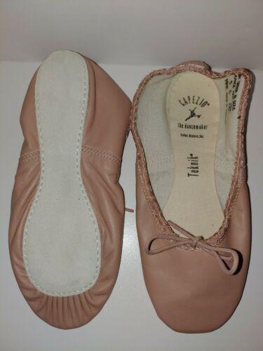 Capezio Adult Teknik 200 PNK Pink Full Sole Ballet Shoe Size 5D 5 D