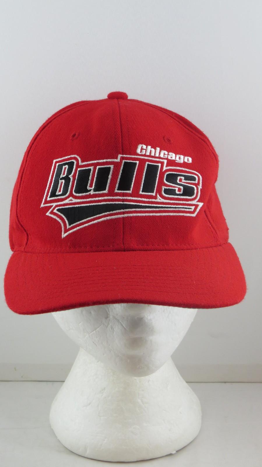 Chicago Bulls Hat (VTG) - Zoom Script by Starter - Adult One Size Star Fit