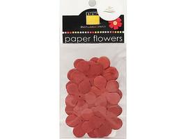 Bazzill Basics Paper Flowers, 4 Packs