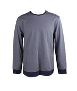Tasso Elba Mens Long Sleeve Jacquard Crew-Neck Pullover Sweater Small S ... - $17.41