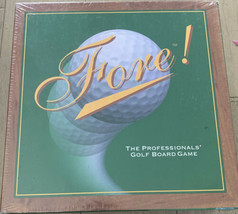 Fore! The Professionals Golf Board Game ~ 1996 Sealed ~ Family Game Night - $24.40