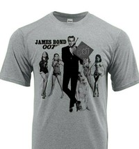 James Bond 007 Dri Fit T-shirt moisture wick retro 60s 70s SPF graphic retro tee image 2