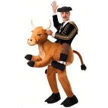 Forum Novelties Men's Ride A Bull Costume, Brown, Standard - $134.15