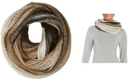 Echo Design Womens Ombre Stripe Infinity Scarf 450190 - $8.90