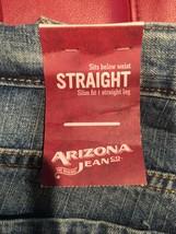 Boys Jeans Size 12 Husky Nwt Arizona Loose Straight AA87 image 2