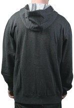 LRG Mens Clean Black Heather The Target Interval Zip Up Hoody Sweatshirts XL NWT image 2