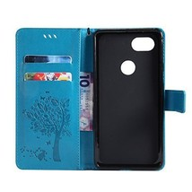 Google Pixel 2 XL Case Linkertech Card Slots & Wrist Strap PU Leather Wallet and - $18.66