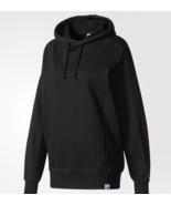 Adidas Originals XBYO Hoodie Womens Sweatshirt Black BQ0001 Size Medium(M) - $44.54