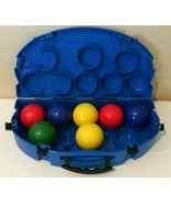 Sportcraft Bocce Ball Set with Carrying Case Gamelife with 7 Balls - $19.99