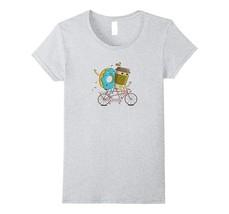 New Shirts - Cute Coffee and Doughnut Shirt - Coffee Doughnut T-Shirt Wowen - $19.95