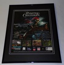 2003 Pirates of the Caribbean XBox Framed 11x14 ORIGINAL Advertisement - $34.64